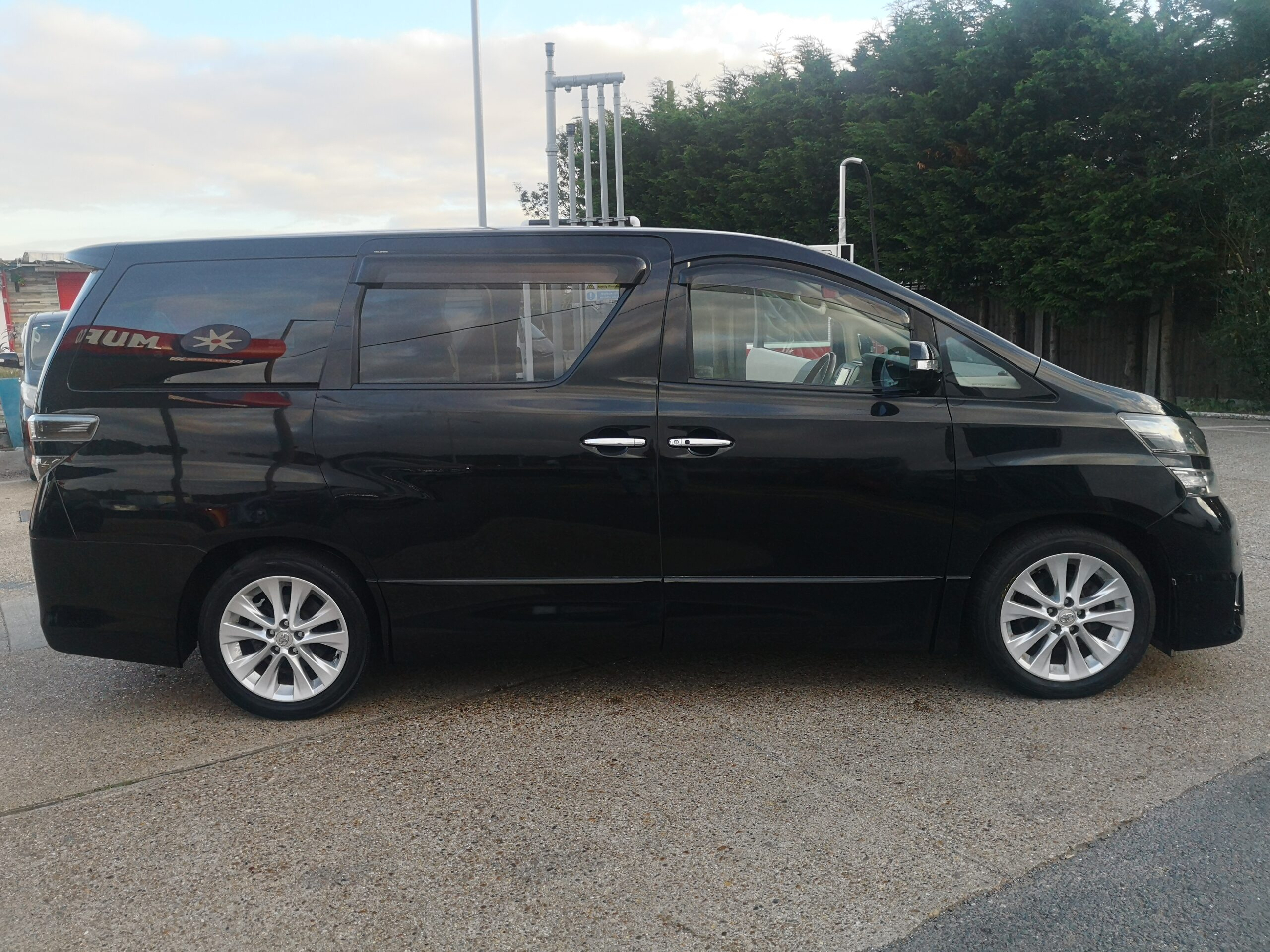 TOYOTA VELLFIRE 3.4 V6 ZG EDITION 7 SEATERS,2008(58) 7 SEATERS,ELECTRIC SEATS
